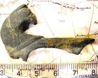 Ancient Scythian Zoomorphic Handle Shaver, 500-100 BC (FREE SHIPPING)