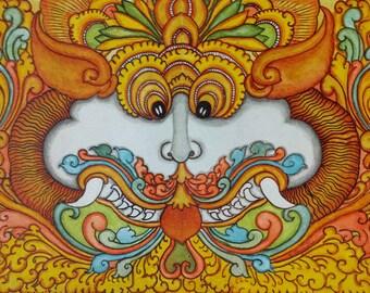 Yazhi ( pronounced Ya-lee) - Hindu God