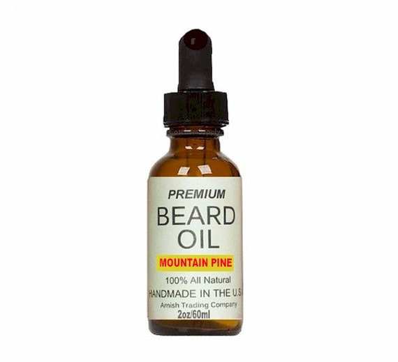 beard oil mountain pine beard grooming by amishtradingcompany. Black Bedroom Furniture Sets. Home Design Ideas