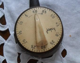 French Japy 60 min Kitchen Timer