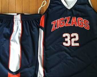 Custom Basketball uniforms/jerseys for youth and adults - top and bottom