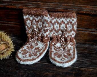 Elwin Baby Slipper Socks 0-3 months