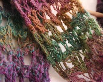 Handmade Isle scarf