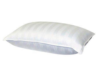 Superior 100% Down 700 Fill Power White Goose Down Pillow. King Size
