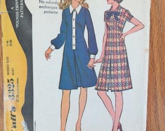 Women's Dress Pattern - Size 14 - Vintage McCall's 3325