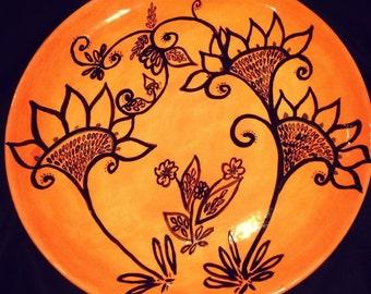 Ceramic Platter 35-40cm diameter