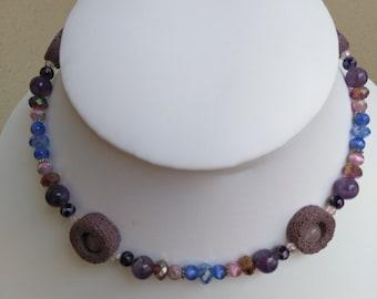 All shades of feminine elegant necklace