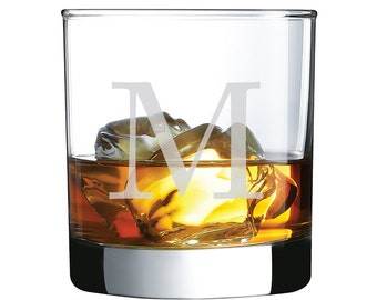 Engraved - Drinkware Collection Rocks Glass 10.5 oz (Set of 4)