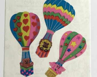 Vintage Mylar Hot Air Balloons