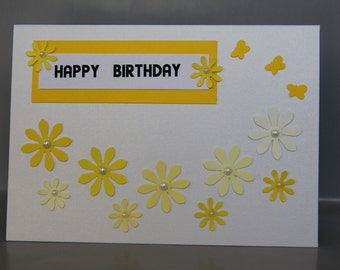 Happy Birthday 15 card with matching envelope