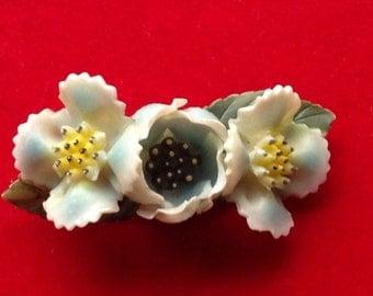 Retro Floral brooch