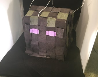 Minecraft Inspired Enderman Pinata