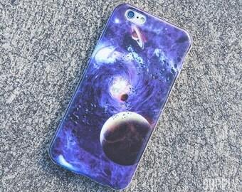 Purple Space iPhone Case iPhone 8 Case iPhone 8 Plus Case iPhone 7 Case iPhone 7 Plus Case iPhone 6s Case iPhone 6s Plus Case Space Galaxy