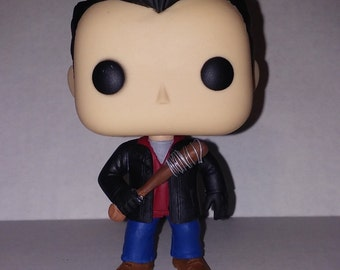 Custom Negan Funko Pop from The Walking Dead