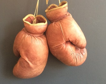 Vintage Boxing Gloves Wilson 310 circa early 1960s