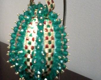 Christmas Ornament - Green Egg
