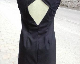 rear neck gabardine suit