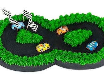 Race Track DIY Birthday Cake Kit