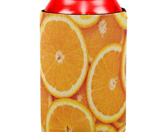 Orange Oranges Citrus All Over Can Cooler