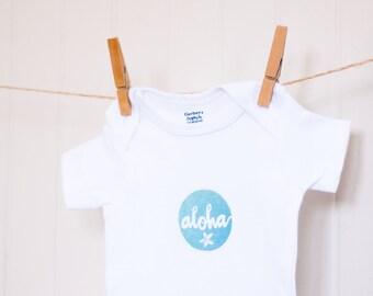Aloha Baby Organic Onesie