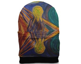 SALE! Scream Edvard Munch backpack bag