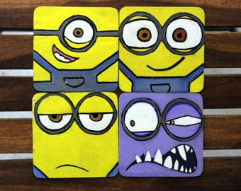 One In A MINION Coasters