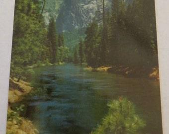 Vintage Sentinel Rock Postcard