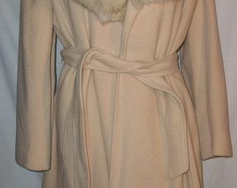 Vintage Neiman Marcus Cashmere Coat Sz 12