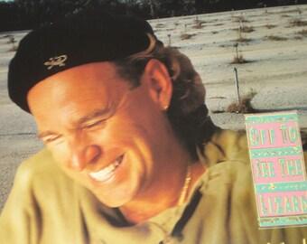Jimmy Buffett vinyl record album, Off To See The Lizard vintage vinyl record