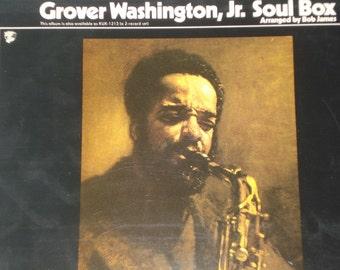 Vinyl Record Grover Washington Jr record album Soul Box Vol 1 vintage vinyl record