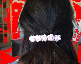 Wedding hair accessory, bridal hair, beaded hair jewelry, polymer clay hair accessory, hair clip, hair pins, prom hair