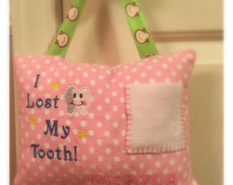 Customized Tooth Fairy Pillow