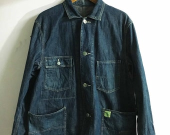 Post Overalls Coverall Jacket Japan