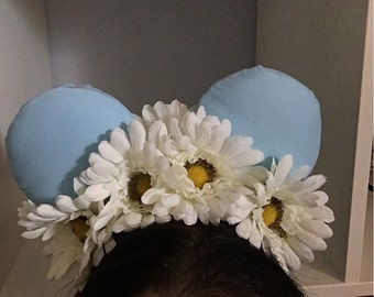 Flower Crown Disney Ears