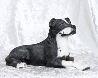 "Decoration figure ""American Staffordshire Terrier"" / ""Pitbull Terrier"""