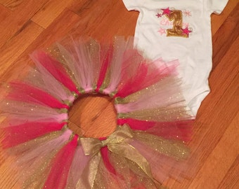 Twinkle little star first birthday outfit