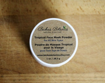 Tropical Face Mask Powder for All Skin Types