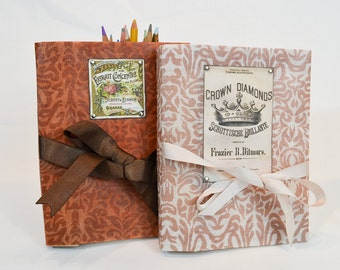 Blizzard journal with ribbon closure