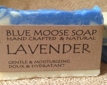 Lavender Soap - Handmade Soap, Natural Soap, Cold Process Soap, Vegan Soap