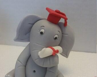 Elephant Graduation Etsy