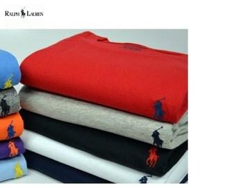 Ralph Lauren Men's Custom Fit Short Sleeve Crew Neck T-Shirt
