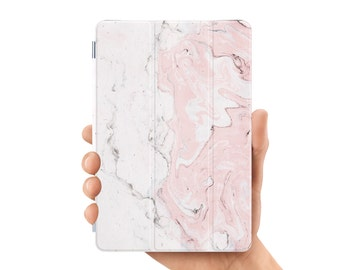 ipad mini case smart case cover for ipad mini air 1 2 3 4 5 6 pro 9.7 12.9 retina display gemstone white pink