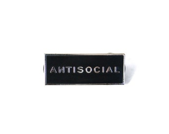 Antisocial Pin