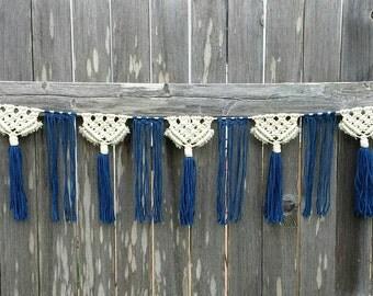 Macrame Garland / Wall Hanging / Boho Decor