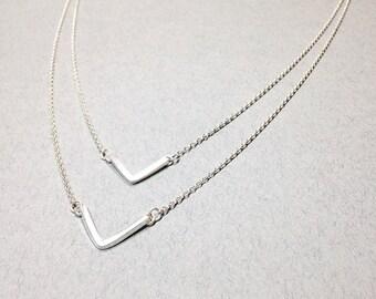 Double Chevron Necklace