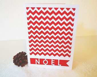Handmade Noel Christmas Card, Handmade Noel Holiday Card, Card Sets, Xmas Noel Cards, Seasons Greetings Cards, Custom Noel Cards