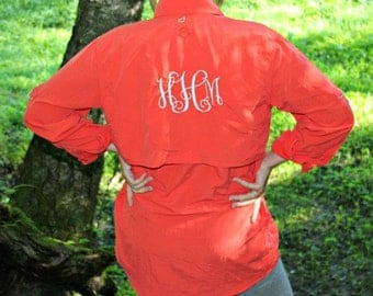 Monogrammed Fishing Shirt - Magellan Outdoors - Bathing Suit Cover - Beach Cover Up
