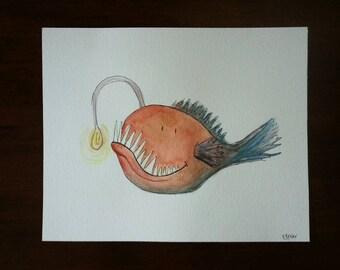 Deep Sea Angler (of the Sea Monster series)