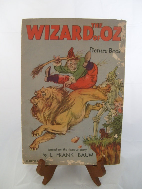 Wizard of Oz (Vintage) Picture Book