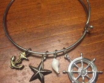 Nautical Bangle Bracelet